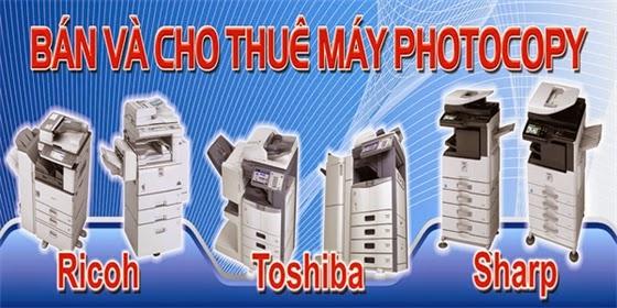 Cho Thuê, Bán Máy photocopy Toshiba chính hãng